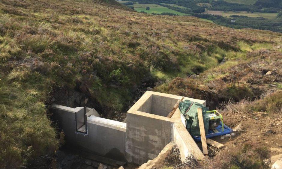 50kW hydropower build, Highland Perthshire.