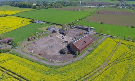 Jamesfield Farm Demolition, Perthshire