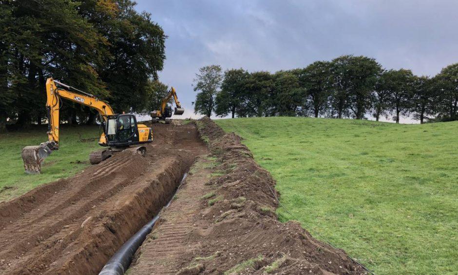100kW hydro scheme, Corogle